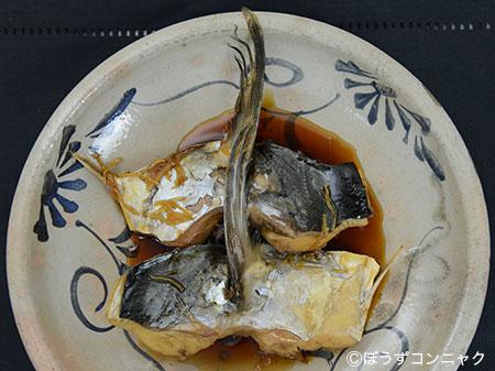ヨコシマサワラの煮つけ