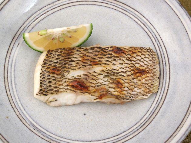 メイチダイの塩焼き