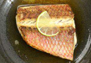 オオクチハマダイの魚汁