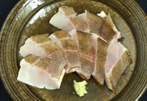 アイナメの山椒焼き