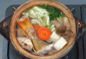 アブラメの鍋