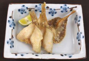 アブラジャコの天ぷら
