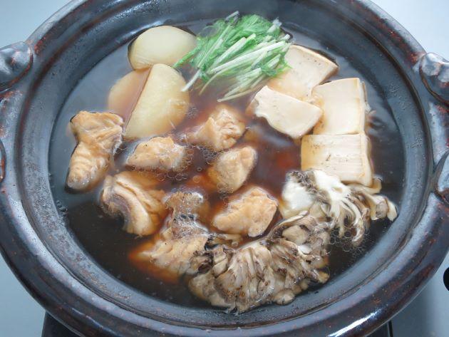 マダラタルミの鍋