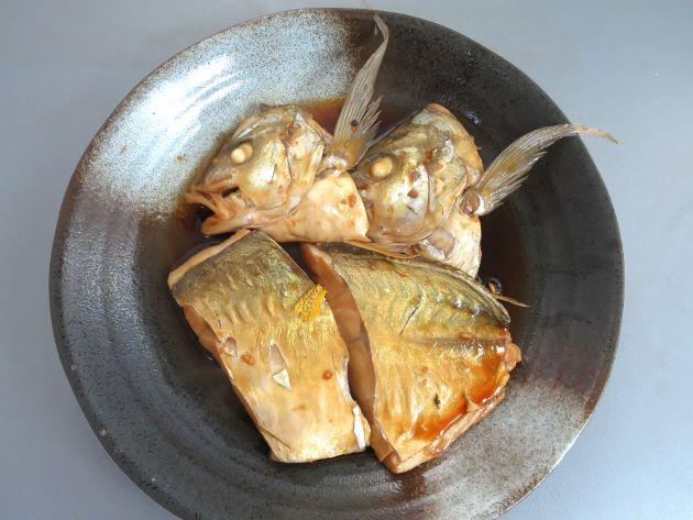 テンジクアジの塩焼き