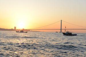 明石海峡でのイカナゴの新子漁