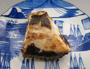 クサアジの塩焼き