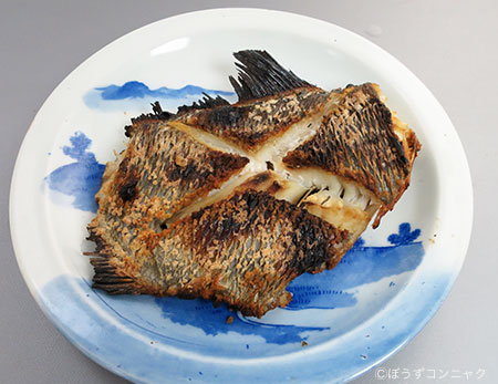 オカムラギンメの塩焼き