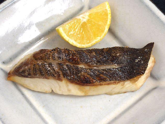 イシガキダイの塩焼き