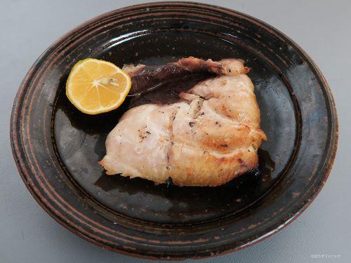 シロカジキの塩焼き