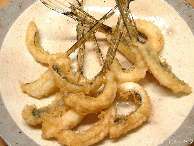 ヨメゴチの天ぷら