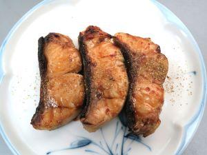 ブラウントラウトの山椒焼き