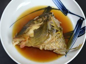 ヨコシマフエフキの煮つけ
