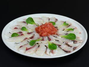ヨコシマフエフキのカルパッチョ