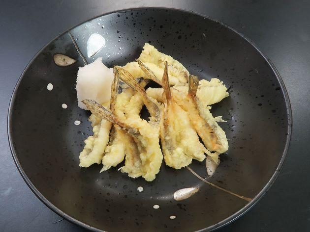 めごちの天ぷら