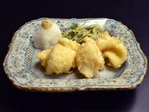 ブドウイカの天ぷら