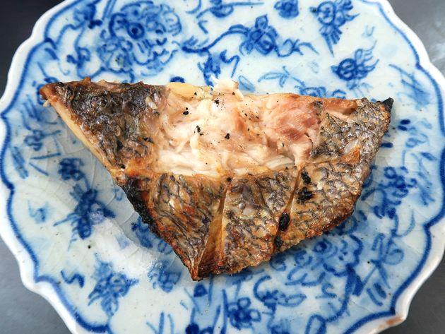 エリアカコショウダイの塩焼き