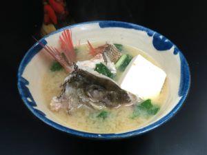 マトフエフキの魚汁(みそ汁)