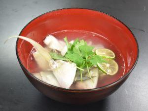 タイワンヨロイアジの潮汁