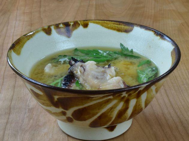 イラブチャーの魚汁