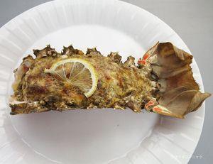 ハコエビの鬼殻焼き