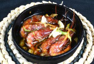 ツノナガチヒロエビの煮つけ
