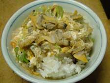 深川飯「ぶっかけタイプ」