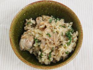 チョウセンハマグリの炊き込みご飯