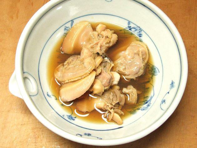 シナハマグリの煮蛤