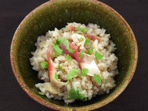 ウバガイ(ホッキガイ)の炊き込みご飯