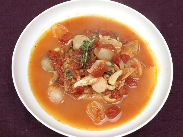 ウチムラサキのトマトスープ
