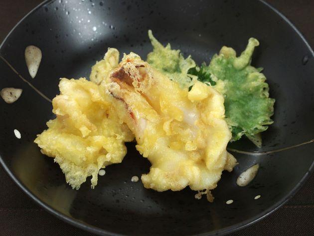 ミルクイの天ぷら
