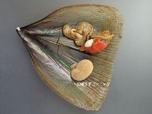 リシケタイラギの料理