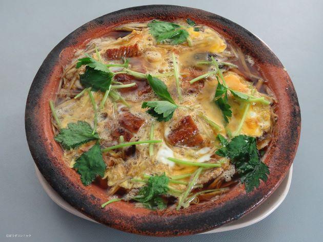 ウナギの柳川鍋