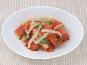 ヤリイカのトマトサラダ