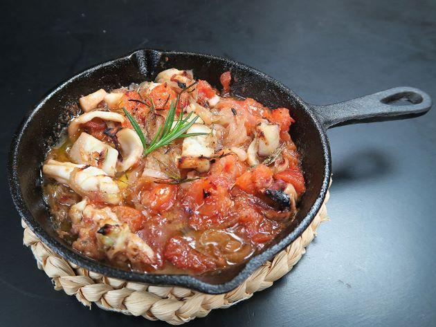 ヤリイカのオリーブオイル焼き