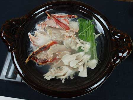 タラバガニの鍋