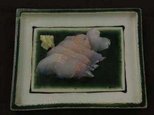 エゾイソアイナメの刺身