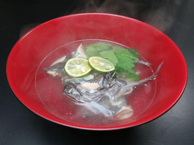 オキアジの潮汁