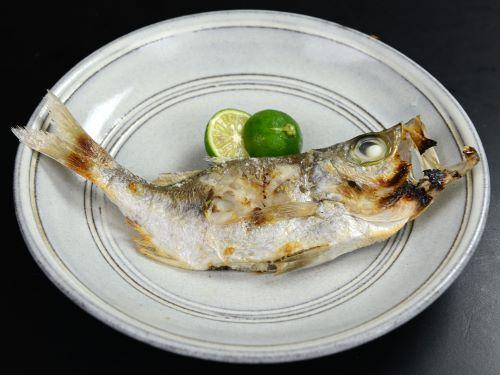 ワキヤハタの塩焼き