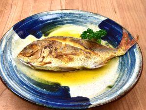 小鯛のマーガリン焼き