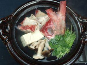ハマダイのちり鍋