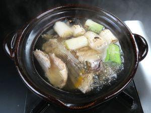 アオハタの鍋
