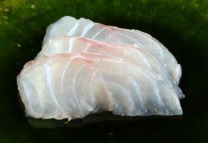 ツチホゼリの刺身
