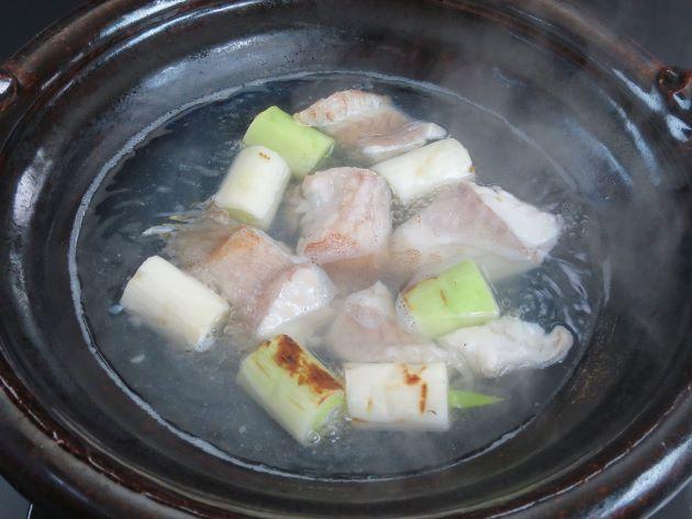 シモフリハタちり鍋