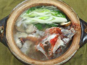 オニカサゴのちり鍋