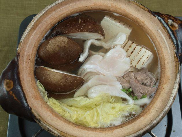 ウスバハギのちり鍋