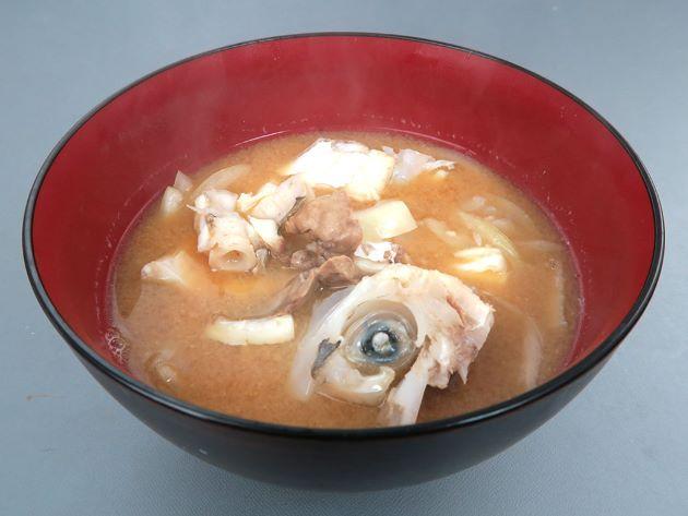 ウスバハギの味噌汁