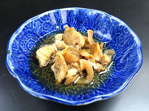 ミギマキタテゴトナシボラの煮つけ
