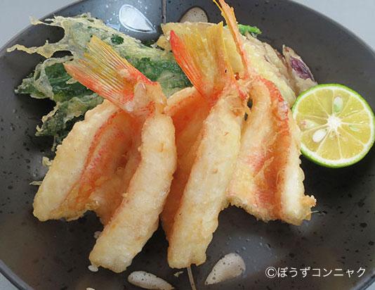 ヒメコダイの天ぷら