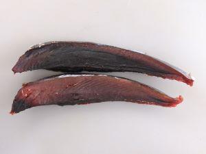 カツオの血合い焼き